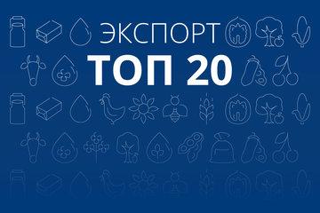 ТОП-20 позиций агроэкспорта Украины в 2016 году